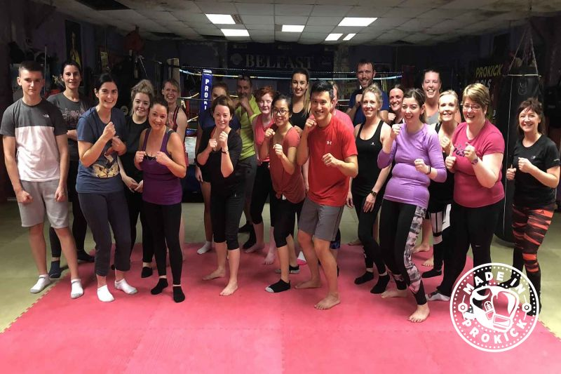 This was the 14th ProKick new beginners course which started in 2018. The 6week course started on Monday 27th August 2018
