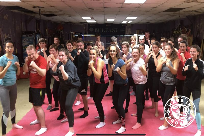 It was our 16th new ProKick 6-week beginners course kicked-off at the ProKickGym on Thursday 27th September.