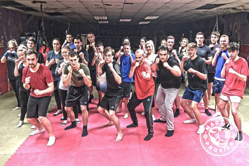 All the newcomers (pictured) had their first taste of ProKick's no-nonsense approach to fitness, ProKick kickboxing style - and it all kicked-off Thursday November 22nd at 8:15pm.