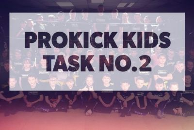 Here's another simple fitness task No.2 helping keep our ProKick Kids active at home.