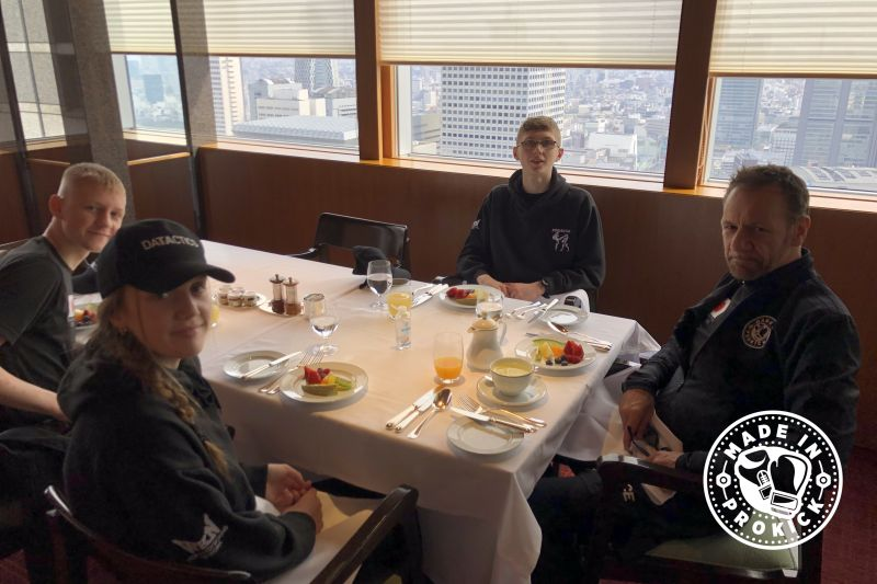 Breakfast fit for a King & Queen Park Hyatt Tokyo