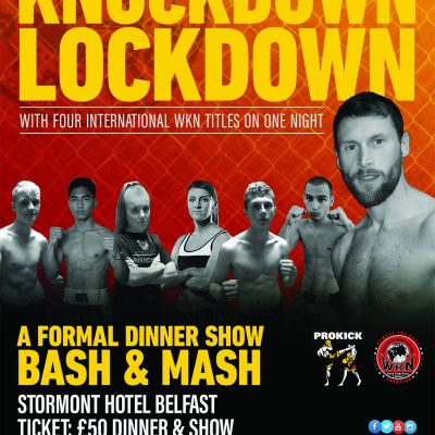 We're on our way back and it's BILLED 'Knockdown Lockdown' Set for the Stormont Hotel on Sunday 12th September 2021