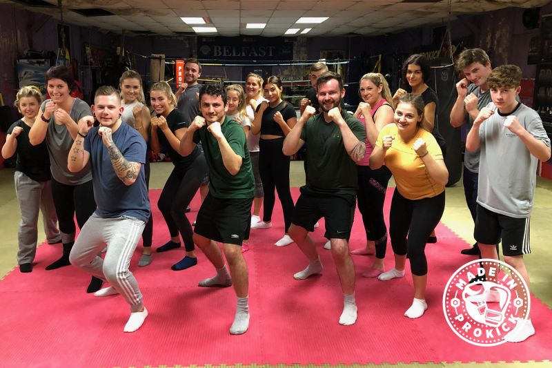 This was the last ProKick new beginners course of 2018 and it all kicked-off at the ProKick Gym on Monday 10th DEC 2018.