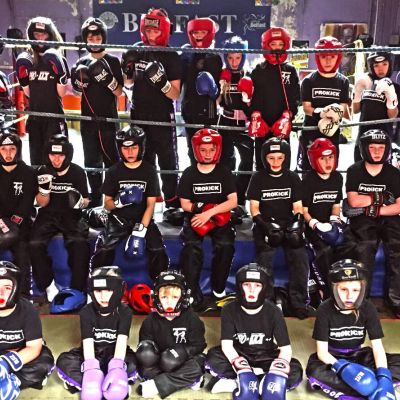 24th NOV and it was the 3rd Week of our new Friday Kids sparring class