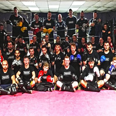 It was 2nd Week New Sparring Team (Wednesday 10 August)