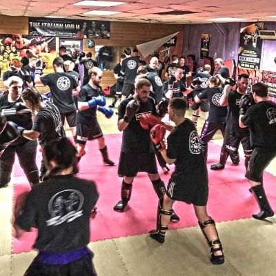 Action on the 2nd Week of the all New Sparring Class set for Jan 2018