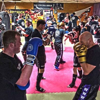 Action on the 3rd Week of ProKick's Sparring class 17th JAN 2018