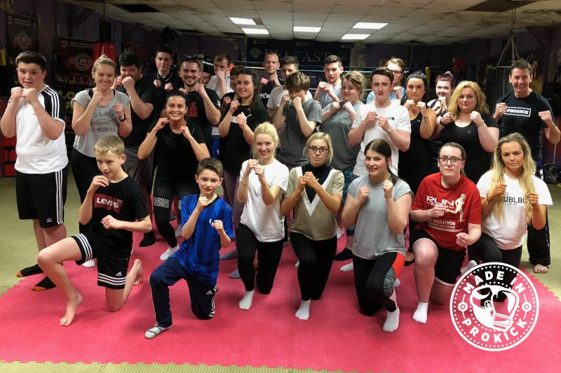 This was the 6th new Beginners Course to kick-off on 27TH March 2018 at the ProKick gym