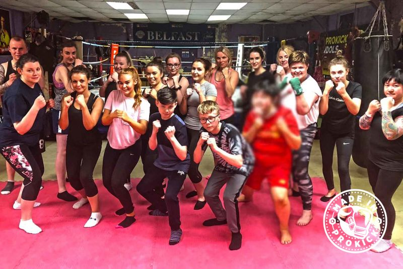 Pictured here are the 8th ProKick New Beginners Course this year of 2018 - the class was set for 30th April 2018 @ 8:15pm for 6weeks.
