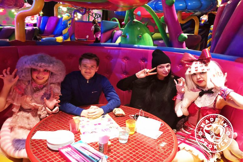 Adele & Mark at the Kawaii Monster Cafe is the newest attraction in Tokyo's fashionable neighbourhood Harajuku. Created by the famous art designer Sebastian Masuda.