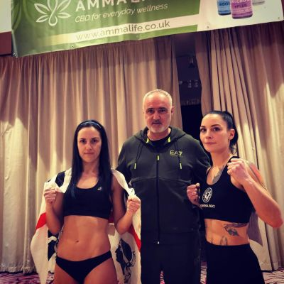 International Low-Kick Style 3x2 50kg Rowena Bolt 49.9 (Belfast, NI) Vs Maura Scano 49.2kg (Italy)