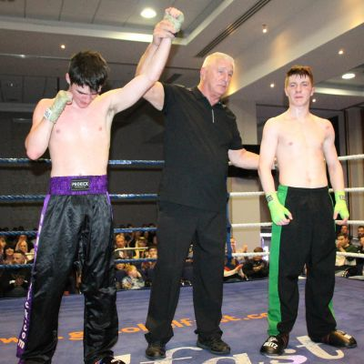 Camryn takes a split decision on the judges card against Bayley Spragg