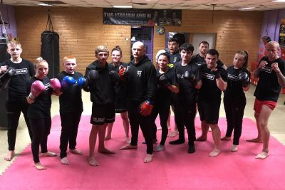 Fight team BootCamp a week long camp two weeks away from the Clayton Hotel 14th October 2018