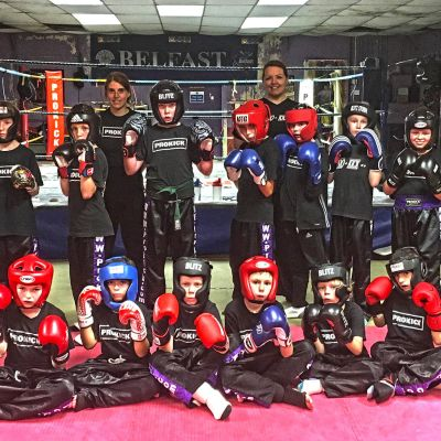 Friday Kids Sparring Class 25th August 2017