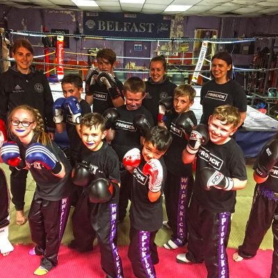 Friday Kids Sparring