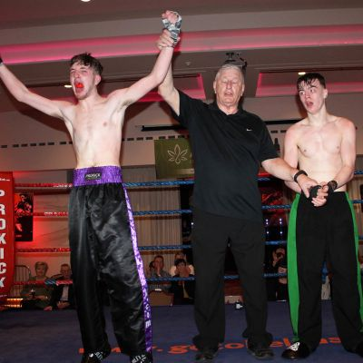 Joshua Madden gets the nod from the judges at the ProKick's first home event of 2019 at the Stormont hotel in Belfast