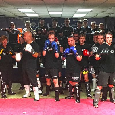 New Sparring Class week No.1 4th October
