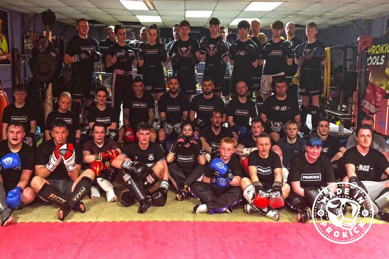 An open class kicks-off every Wednesday - The New ProKick Sparring Course kicks-off at 6pm