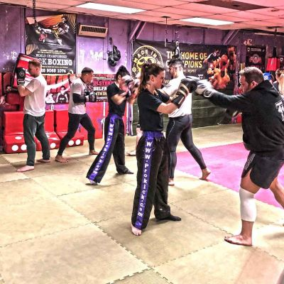 No 2 Bootcamp at ProKick on 22nd JAN 2018 - boxing Drills on Day1