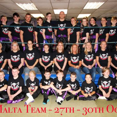 The ProKick team who will travel to Malta