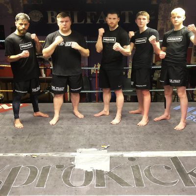 #ProKickTeam traveled to Fraserburgh, Scotland on Saturday 23rd March 2019 at the night of Predator Strike Wars. The ProKick team of five traveled to Mr Albert Ross & Fraserburgh Fitness centre fight-night.