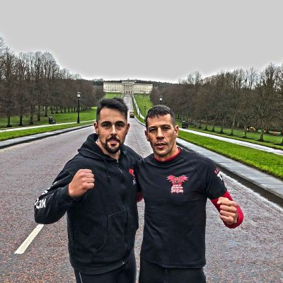 Rafa Del Toro & Tony Lopez training at Stormont estate