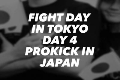 Fight Day Day 4 of ProKick Belfast In Japan. The ProKick team are in Tokyo, for the official K1 amateur kickboxing ALL Japan championships