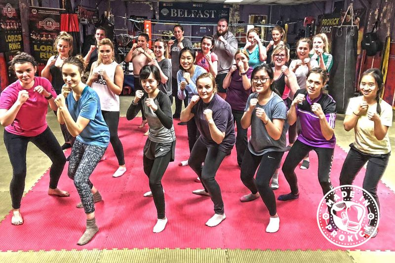 This was our second New ProKick Beginners 6week course of 2018 - and as you can see it's Girl Power at ProKick