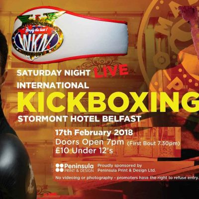 WKN Irish Title Fight for 17th FEB at the Stormont Hotel - Rowena Bolt has finally got the title shot she was dreaming off.