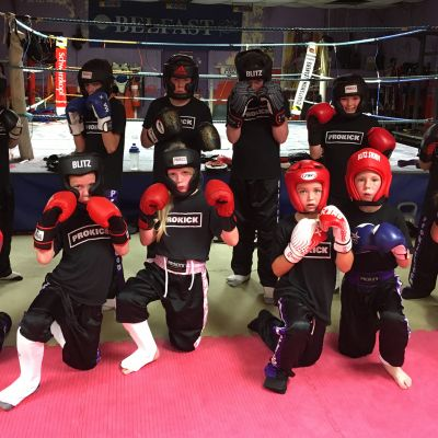 Week No.1 ProKick Kids Sparring for Malta