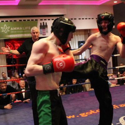 Action From Madden Vs Spragg Match at the Stormont hotel in Belfast