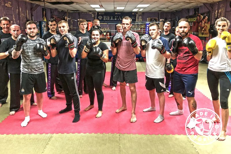 Firstly, a big-up to all the new starts who finished the six-week course in style last night Tuesday 4th June. The class were put through a tough basic pad session with the help of some ProKick senior members under the direction of head coach #BillyMurray