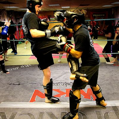 Wednesday Sparring action at ProKick
