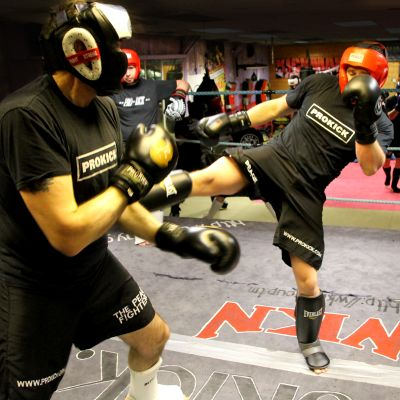 Kickboxing Sparring at the ProKick Gym