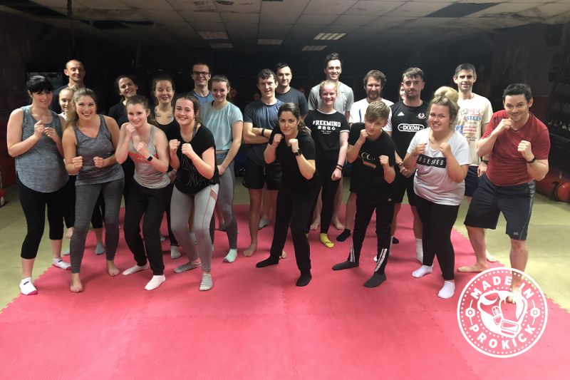 Halloween - another spooky packed new 6-week beginner' course kicked off at 8:15 pm. This was the seventeenth new 6-week course to start at the #ProKickGym this year.