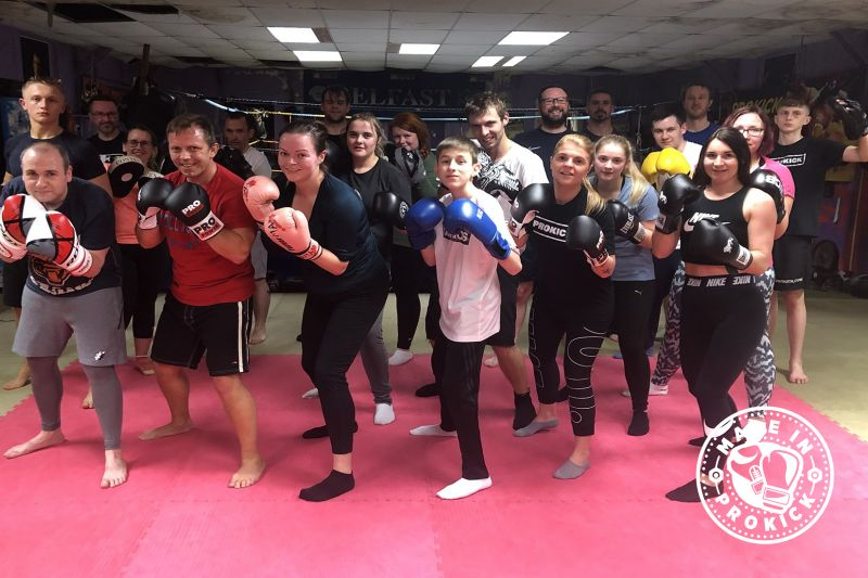 Well done new ProKickers - Another tough night at the #ProKickGym as beginners finished their ProKick 6-weeks of #kickboxing at the #Belfast #Gym. It all happened last night Monday 28th October 2019.
