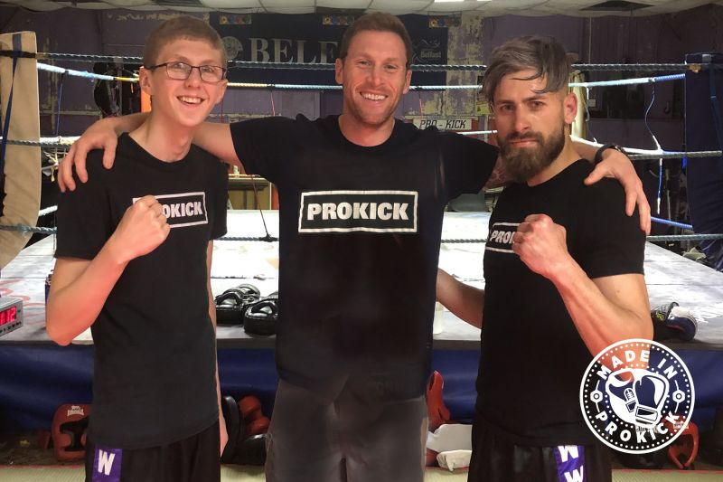Pro Champion Johnny 'Swift' will take two of the ProKick team to England for an International event - Both Jay & Alex will compete.