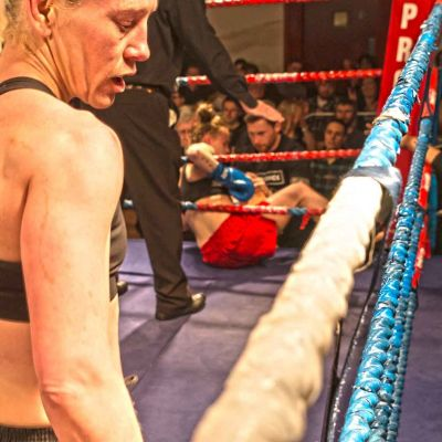 McAleer on a mission - she Knocked the Polish Fighter Ciaskowska through the Ropes