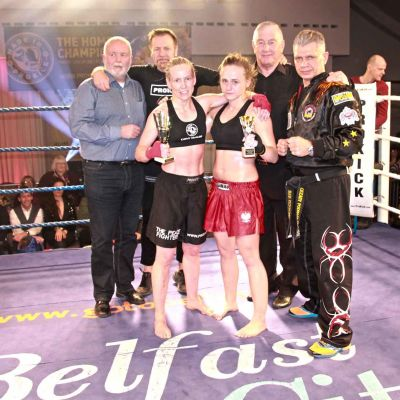 Cathy McAleer takes her first Pro win at home