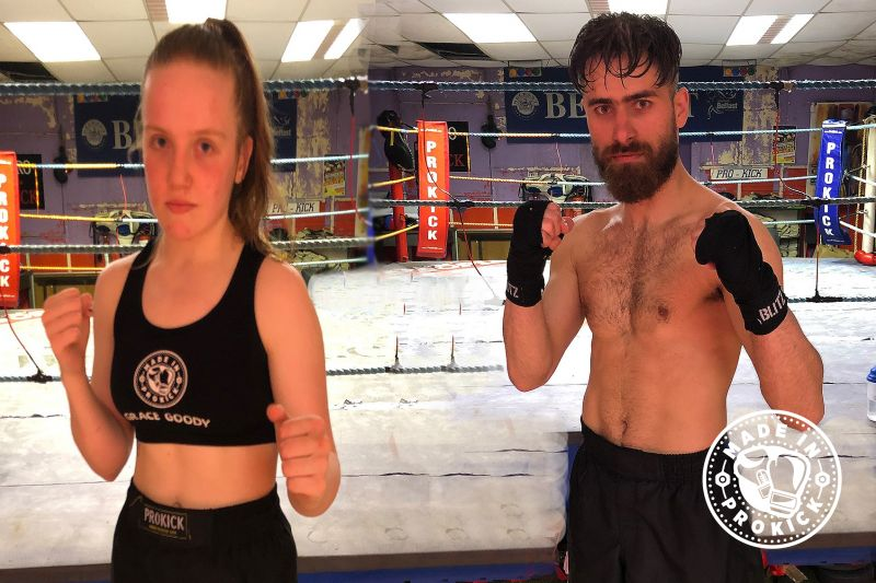 ProKick fighters Grace Goody and Alex Ekhtiyari are both confirmed to compete at the 'Siege at the Seagoe' event in Portadown on Saturday 5th October.