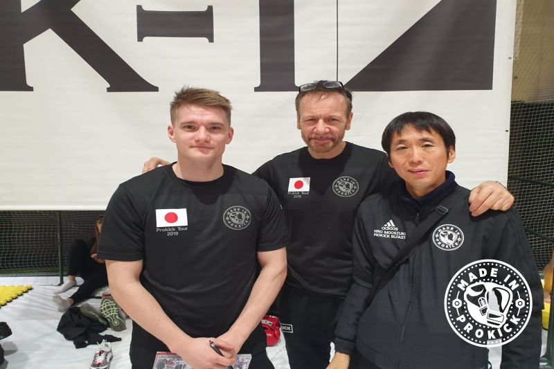 A huge thanks to Mark Bird, for helping out and being our tour-guide, Mark is living and fighting out of Tokyo. Also to Mr. Hiro Mochizuki for all his help and hard work in organising the matches in Japan.