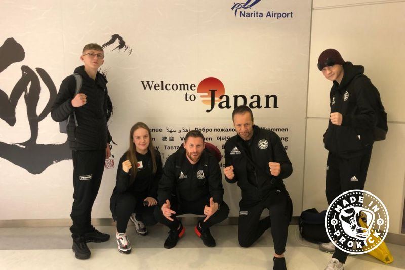 Prokick team have landed in Japan.
