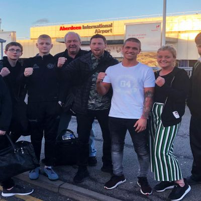 Farewell Prokick Team - the team are dropped off to the airport