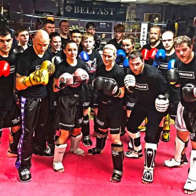 Fighters Class Wednesday 17th  JAN 2018 - most are getting ready for the next show at the Stormont Hotel