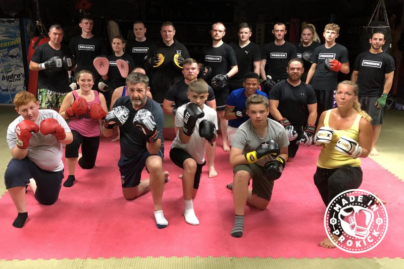 Beginners finished 6-Weeks at ProKickGym on19th July 2018