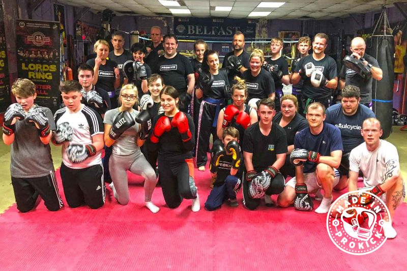 Finished a 6 week beginners course at ProKick on May 8th 2018