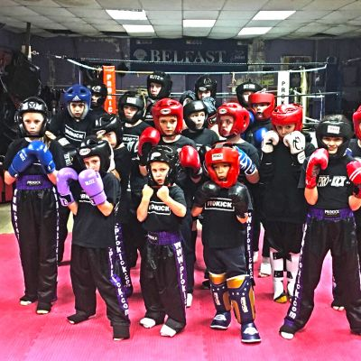 Latest Kids sparring class kicked off on 10th Nov 2017