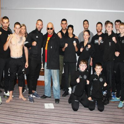 The first part of the weigh-ins took place at 5pm Saturday 13th Oct at the Clayton Hotel in Belfast - it was a select team of three from Cyprus Vs a N, Irish select from ProKick. Three matches done & dusted with everyone on weight.