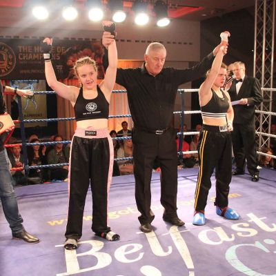 Fought To A Stand Still Grace Goody (Belfast, NI) Vs Jade Molloy (Wolfpack, Athlone ROI) get a DRAW