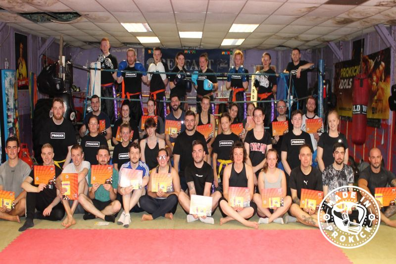 Saturday August 17th 2019 and it was all happening at the ProKick Gym in Belfast. The afternoon the ProKick adults were looking to move up the ladder of kickboxing excellence, it was a ProKick kickboxing graduation day from Beginner to final brown belt.
